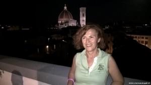 Firenze by night dalla terrazza di Palazzo Gaddi