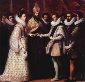 Matrimonio di Eleonora de' Medici e Vincenzo Gonzaga