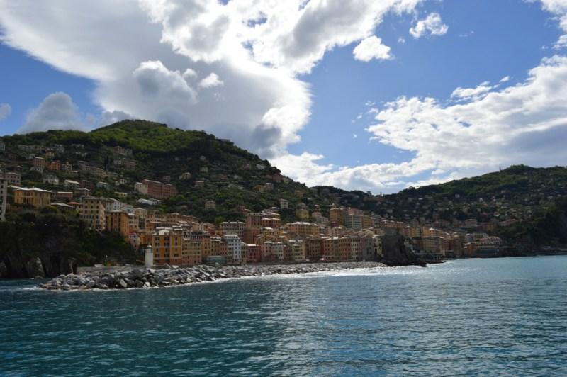 costa ligure tra Camogli e Rapallo