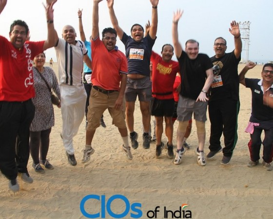 Event Report : CIOs Run For Health – Delhi and Mumbai