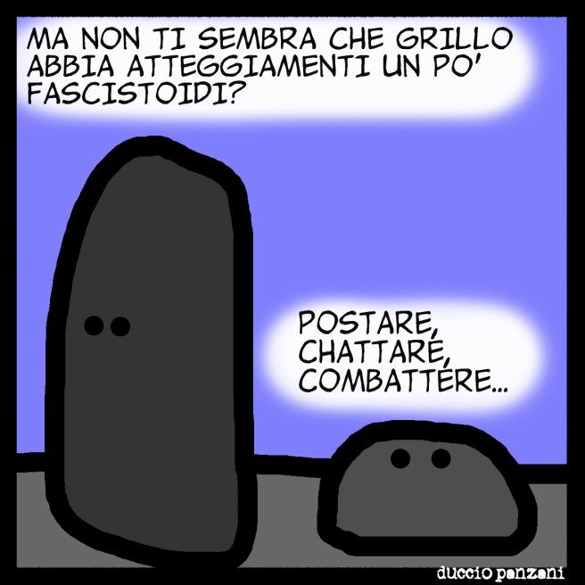 GRILLO FASCISTA