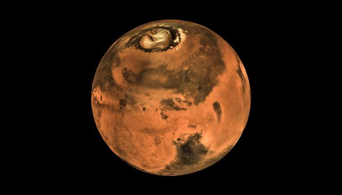 Stunning images from Mars Orbiter Mission – India