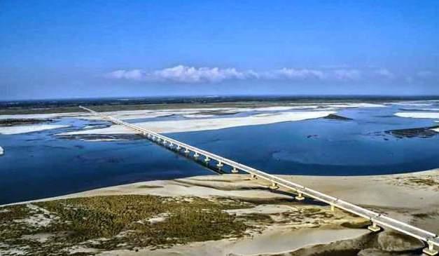 India's longest river bridge all set to open
