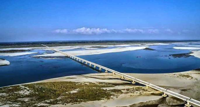 India's longest river bridge all set to open