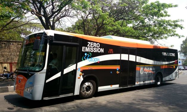 India's war on fossil fuel continues. All electric car by 2030.