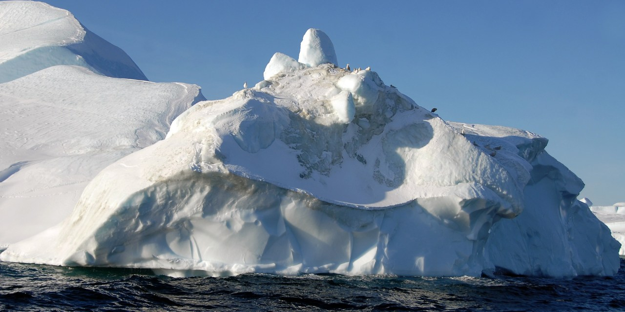 Trillion-tonne iceberg breaks off WA ice shelf.