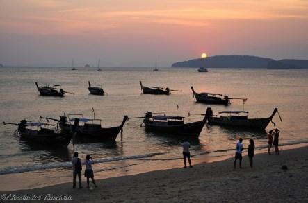 tramonto a Ao Nang