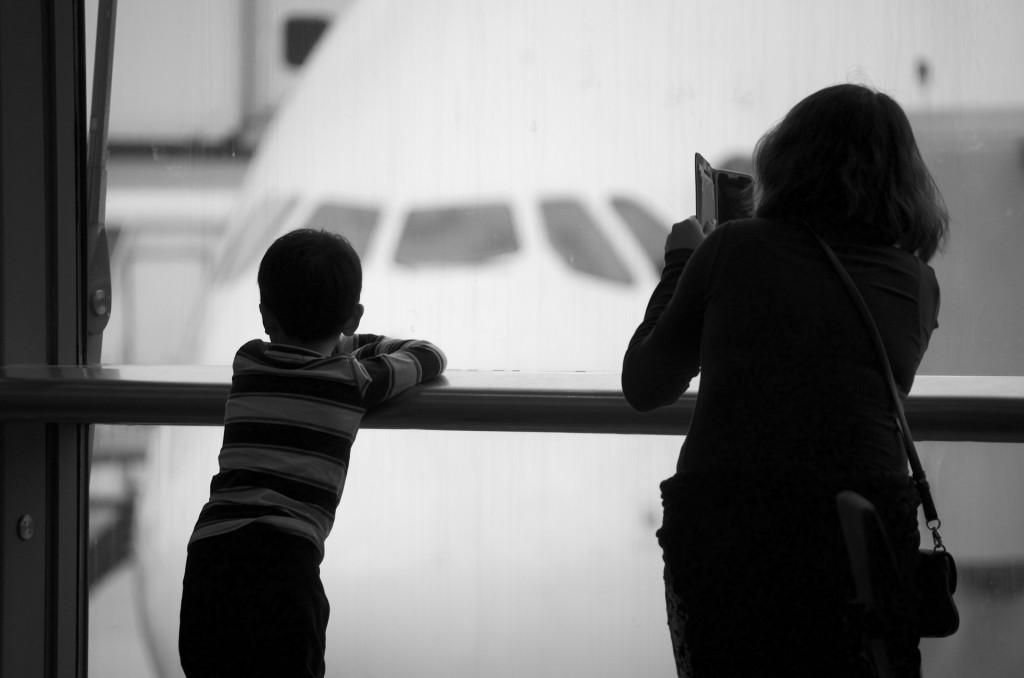 Não deixe seu medo de voar te impedir de viver.