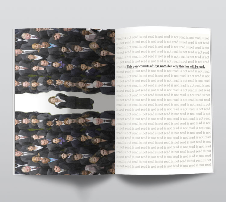 """Alcune pagine del libro """"l'occhio scivola"""""""
