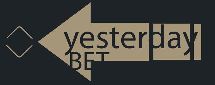 Logo di yesterday better - la scommessa di ieri