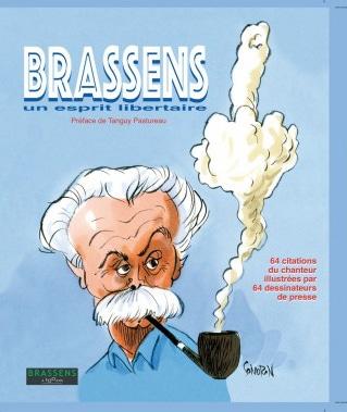 Brassens 64 dessins de presse