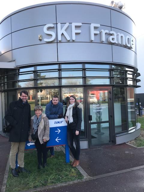 CIR AERO visits SKF