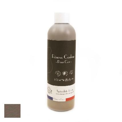 peinture pour cuir gris taupe pour restaurer les canapes