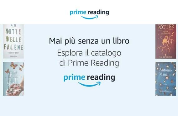 Amazon Prime Reading: leggi libri gratis con account Amazon Prime