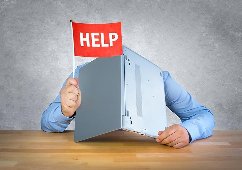 Få hjælp til din hjemmeside