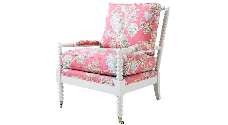 Circle Furniture Spool Chair Designer Chair Painted