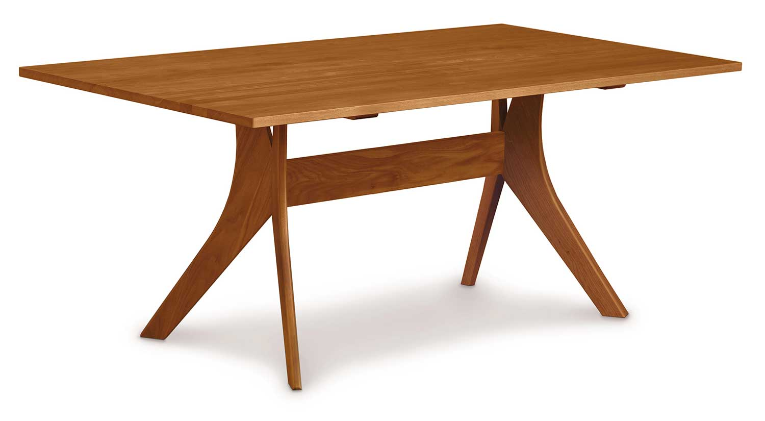 Circle Furniture Audrey Dining Table Fixed Top Table Dining Room Circle Furniture