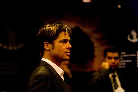 Brad Pitt at CGI