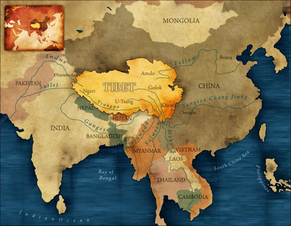 Worksheet. China Tibet and the Strategic Power of Water  Circle of Blue