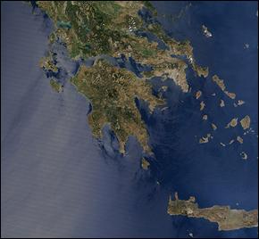 Greece NASA