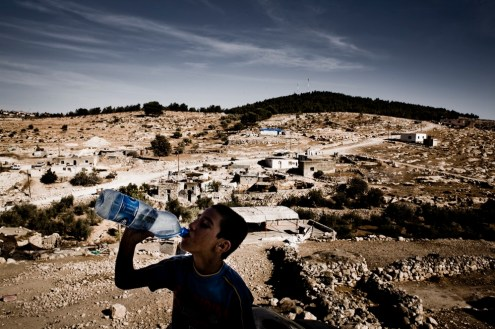 2008 was one of the driest summers on record in the West Bank.