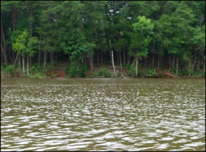 Catawba River in North vs. South Dispute