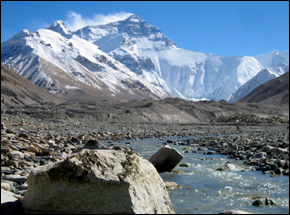 Himalayas Melting Glaciers Causing Floods