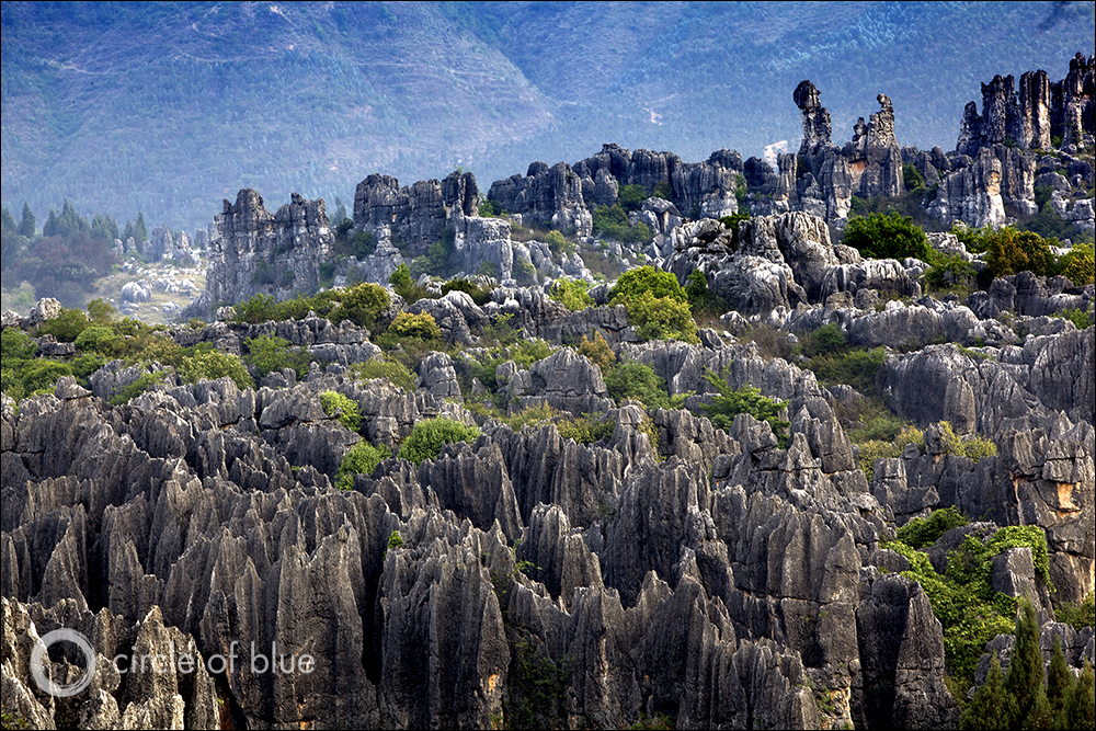 Karst Landscape Of The Stone Forest