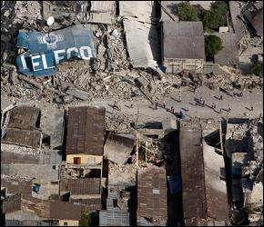 Haiti after the earthquake. Photo United Nations Development Programme