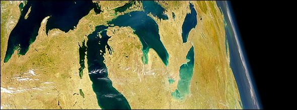 Great Lakes NASA