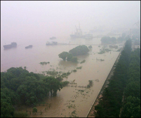 China Flooding - Yangtze River