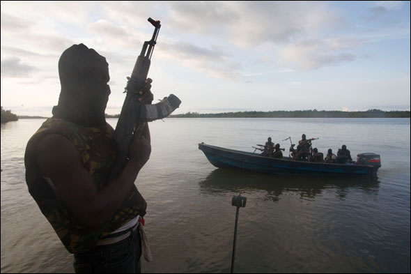 Shell Oil Nigeria MEND rebels Niger Delta Ed Kashi Water Energy Pollution Contamination