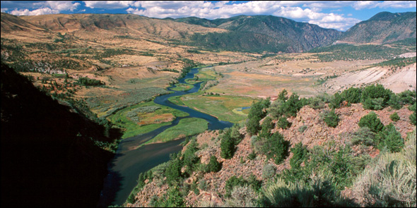 Upper Colorado River Drought American River Endangered