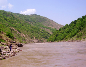 A proposed hydroelectric project on the Kishanganga River, a tributary of the Himalayan Indus River allocated to Pakistan under the 1960 Indus Water Treaty, would redirect water for 330 megawatts of Indian power production.
