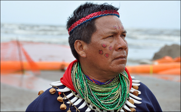 Gulf of Mexico BP Oil Spill Cofan indigenous tribe Ecuador United Houma Nation Louisiana Water Energy