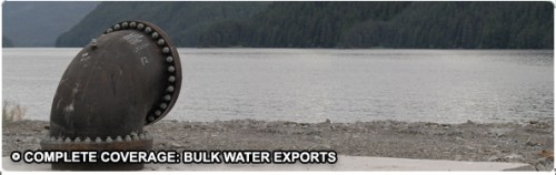 Bulk Water Exports Sitka Alaska India