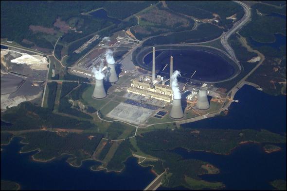 Coal Plant Scherer Georgia Energy Water carbon dioxide sequester power plant