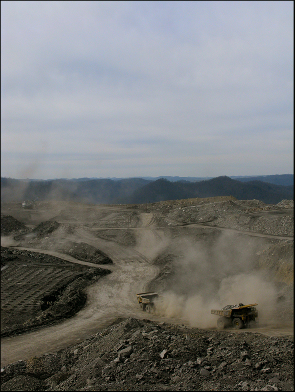 Coal Mine Water Energy Pollution Mining West Virginia Mountaintop