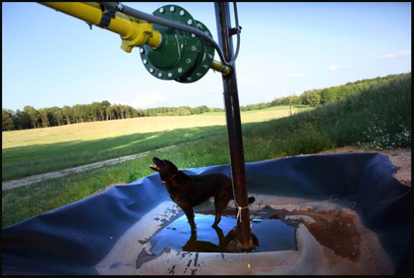 Natural Gas Frack Hydrfracturing Water Energy Michigan mineral rights lease Benzie County Antrim Shale