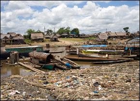 Amazon River in Iquitos