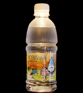 Bottled Wastewater to Drink
