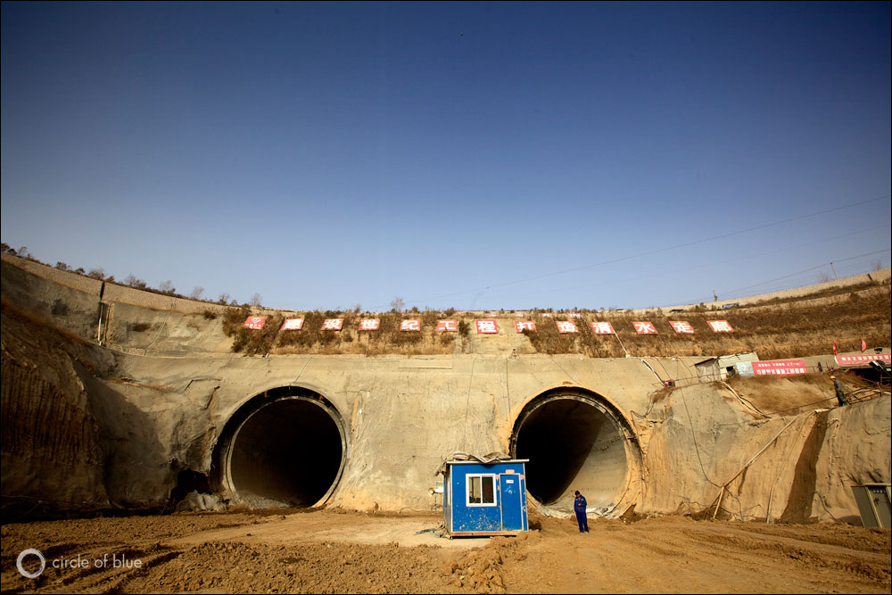 A Dry and Anxious North Awaits China's Giant, Unproven Water