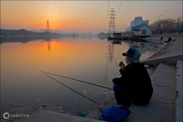 China coal climate change carbon emissions Yellow River agriculture Aaron Jaffe Circle of Blue