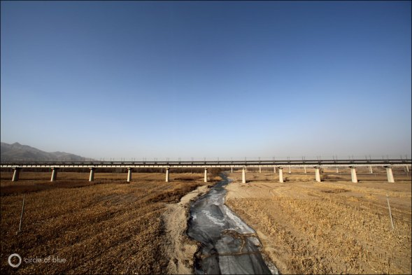 Agriculture is the largest consumer of China's scarce water, though its share is diminishing while industry's share steadily rises.