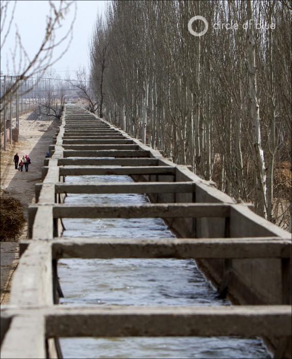 Coal China Nan Liang Migration Farm Water Energy