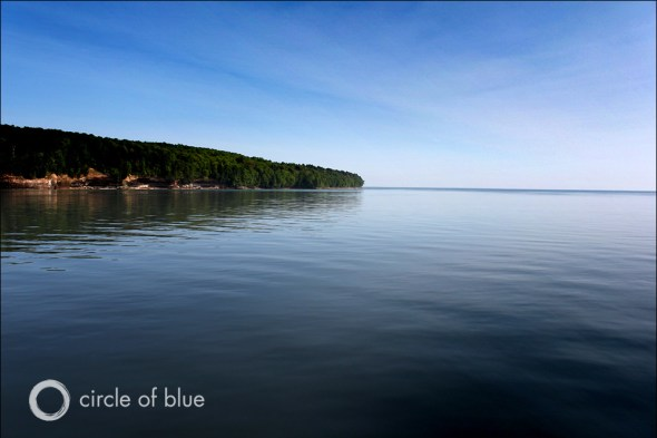 Lake Superior Munising Michigan wild rice great lakes climate