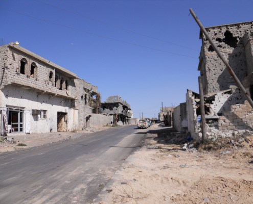 Libya aftermath - lack of clean water