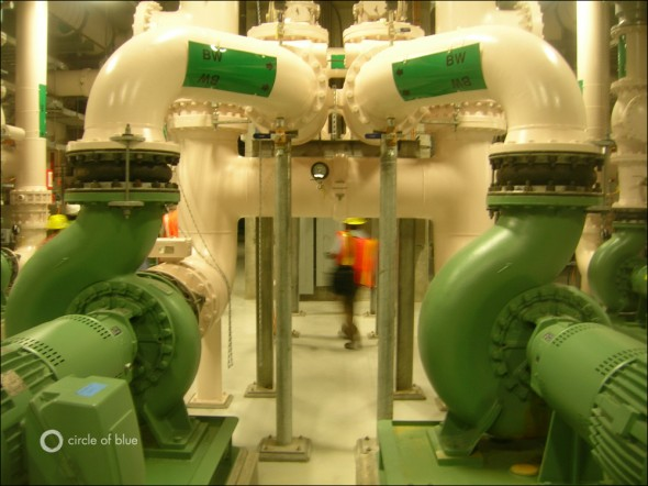 Brightwater sewage water wastewater treatment plant King County Seattle engineer membrane filter