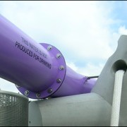 Public Art Purple Pipe
