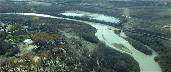 river banner